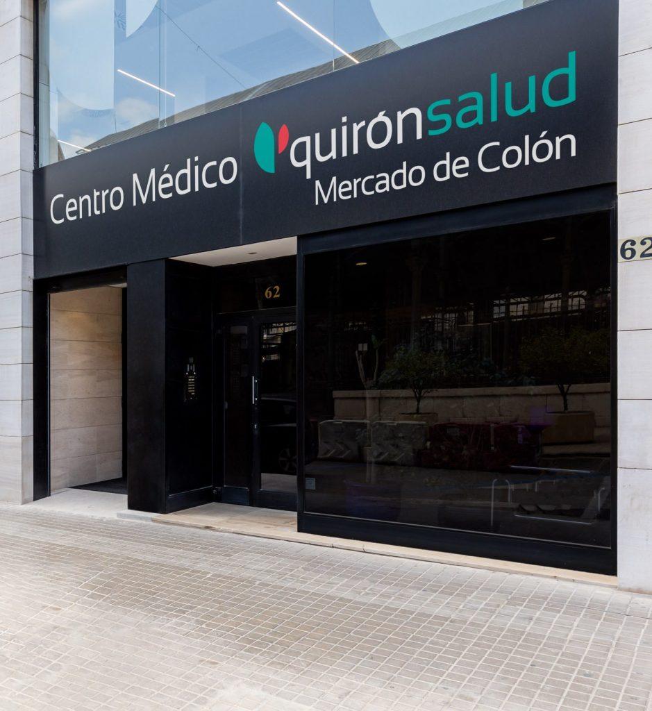 Quirónsalud abre un nuevo centro médico digital en el corazón de la ciudad de Valencia (Mercado de Colón)
